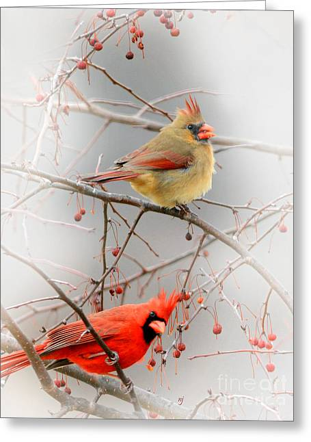 Pairs Greeting Cards - Berry Cold Greeting Card by Nava  Thompson