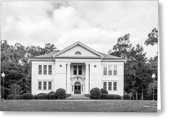 Berry College Hoge Building Greeting Card by University Icons