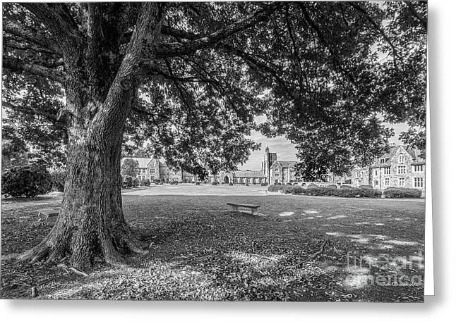 Berry College Landscape Greeting Card by University Icons