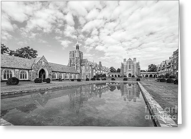 Berry College Reflecting Pool Greeting Card by University Icons