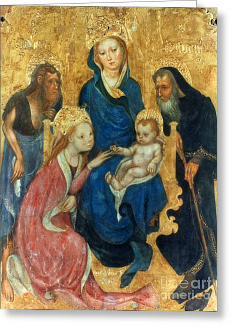 Besozzo: St. Catherine Greeting Card by Granger