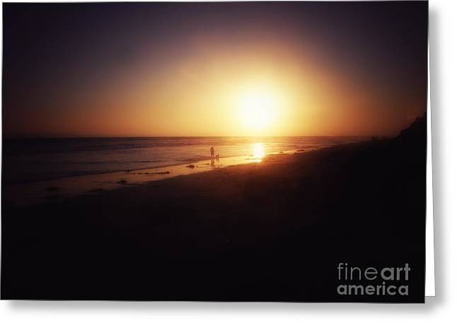 Best Friends At The Beach 3 Greeting Card by Leah McPhail