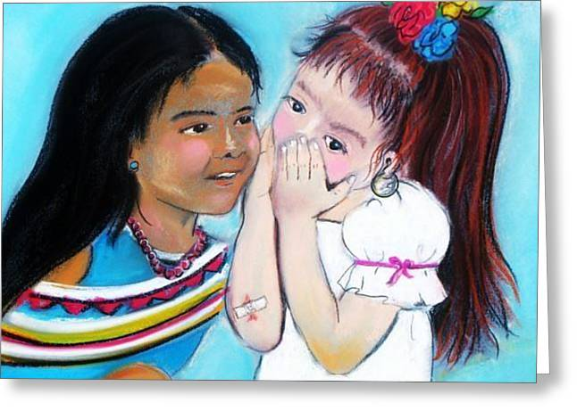 Best Friend Greeting Cards - Best Friends Greeting Card by Dolores Aragon