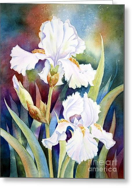 Best Of Show Greeting Card by Deborah Ronglien