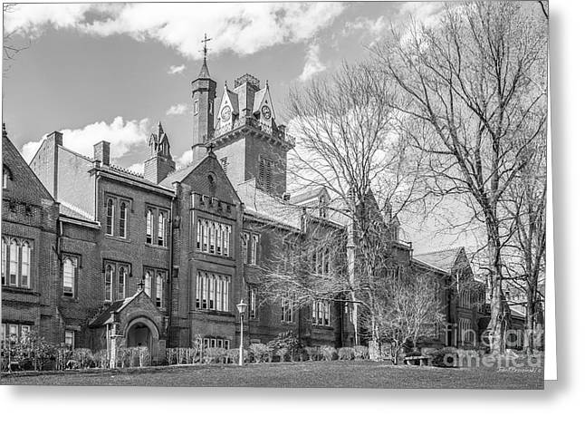 Occasion Greeting Cards - Bethany College Old Main Greeting Card by University Icons