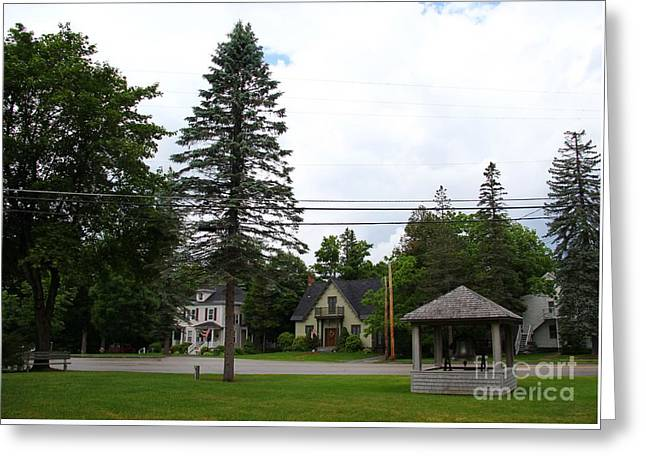 Old Maine Houses Greeting Cards - Bethel Historic District Greeting Card by Marina McLain
