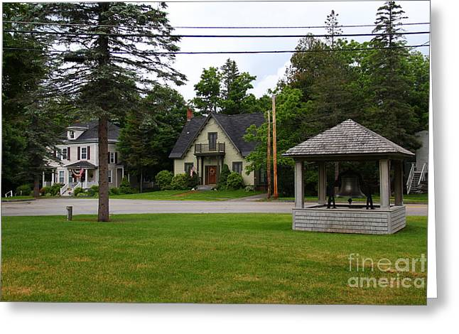 Old Maine Houses Greeting Cards - Bethel Greeting Card by Marina McLain