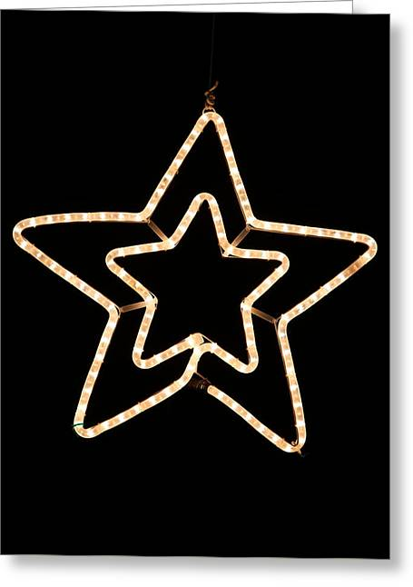 Christmas Greeting Photographs Greeting Cards - Bethlehem Star Greeting Card by Unknown