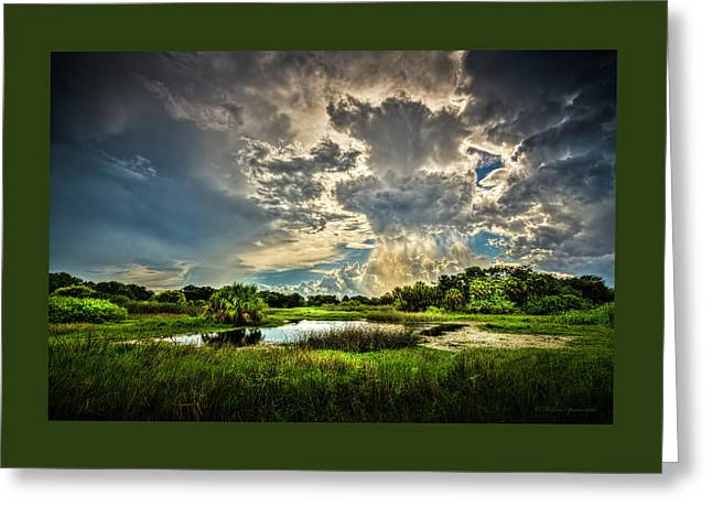 Between Storms Greeting Card by Marvin Spates