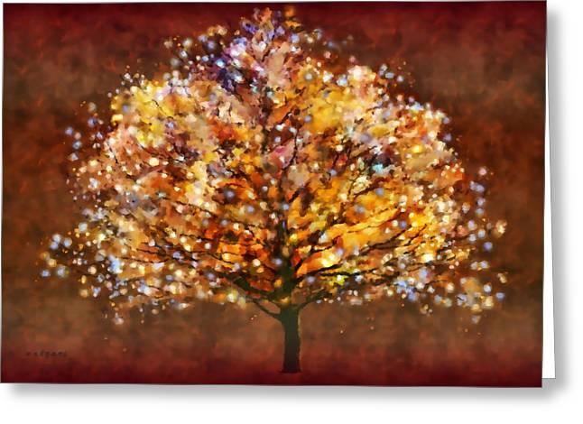 Valerie Anne Kelly Art Greeting Cards - Bewitched Greeting Card by Valerie Anne Kelly