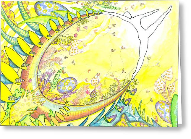 Spirt Mixed Media Greeting Cards - Beyond the Limits of the Possible Greeting Card by Mark Stankiewicz