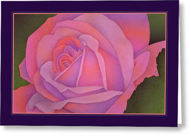 Beyond The Wall Greeting Card by Jane Alexander