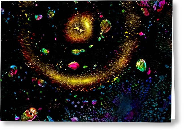 Cliche Greeting Cards - Big Bang Greeting Card by Murray Bloom