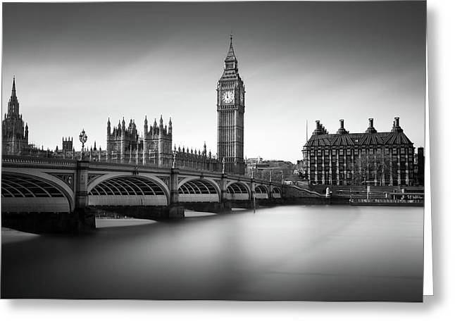 Big Ben Greeting Card by Ivo Kerssemakers