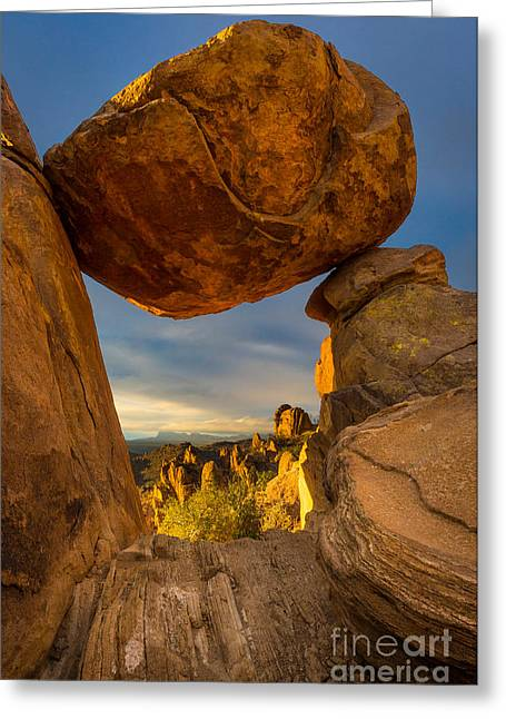 Big Bend Portal Greeting Card by Inge Johnsson
