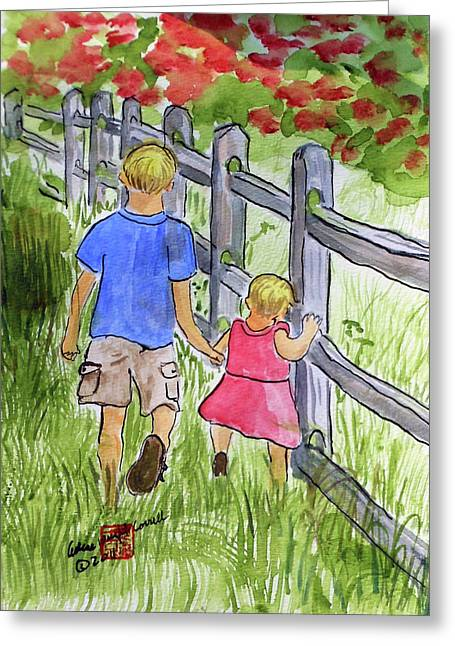 Big Brother Greeting Card by Arlene  Wright-Correll