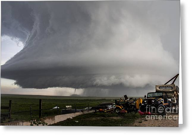 Storm Chasing Greeting Cards - Big Brother Greeting Card by Francis Lavigne-Theriault