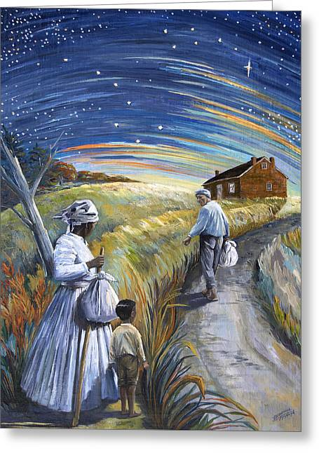 Abolitionist Paintings Greeting Cards - Big Dipper Greeting Card by Paula Blasius McHugh