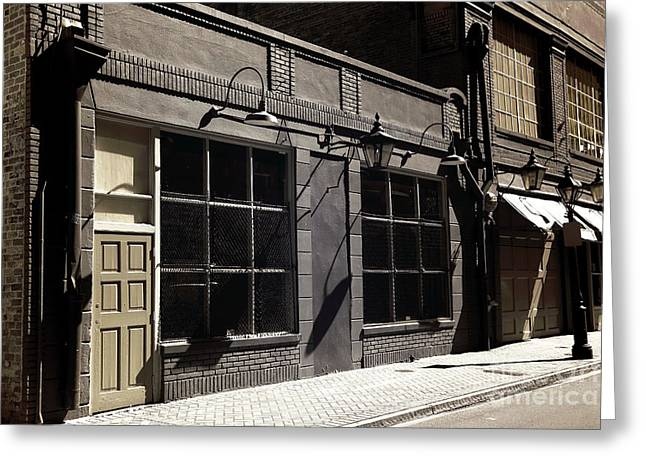 Big Easy Windows Infrared Greeting Card by John Rizzuto