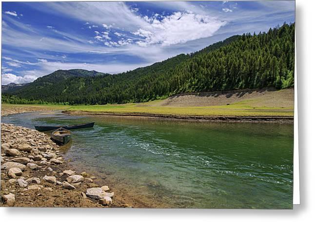 Big Elk Creek Greeting Card by Chad Dutson