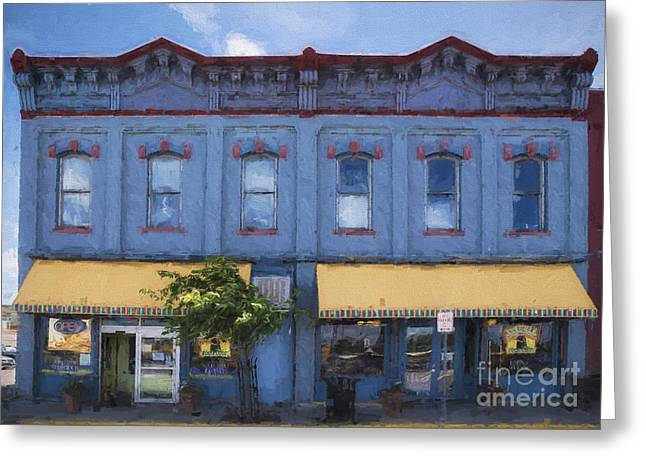 Grocery Store Greeting Cards - Big Hollow Food Coop of Laramie Wyoming Greeting Card by Priscilla Burgers