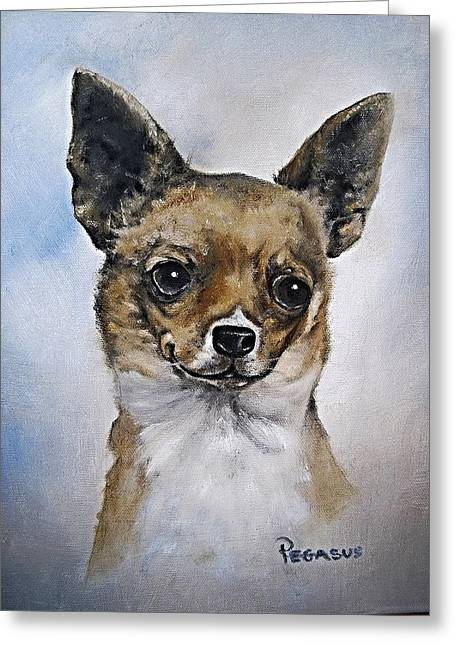 Taco Bell Chihuahua Greeting Cards - Big Love Greeting Card by Beverly Pegasus