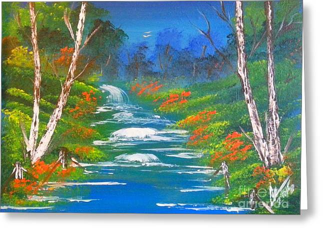 Purchase Greeting Cards - Big River Greeting Card by Collin A Clarke