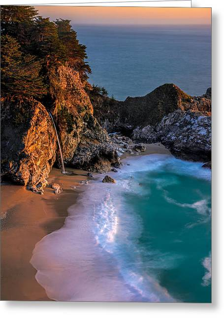 Big Sur Ca Greeting Cards - Big Sur Beauty - Big Sur CA Greeting Card by Michael Brandt