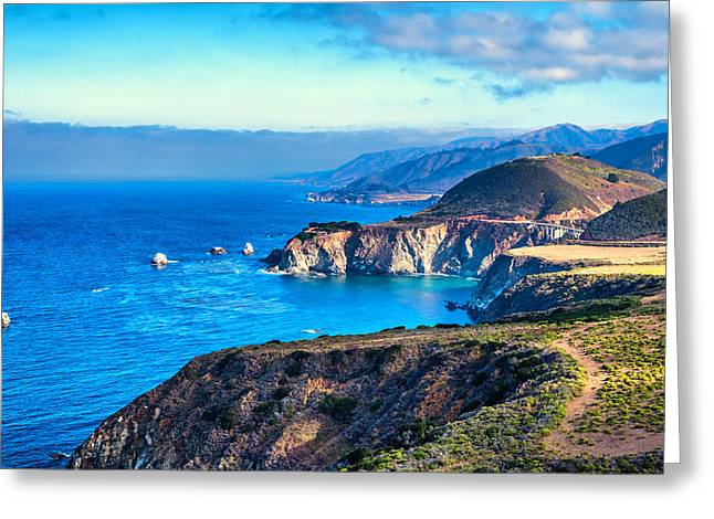 Big Sur California Greeting Cards - Big Sur Beauty Greeting Card by Joseph S Giacalone