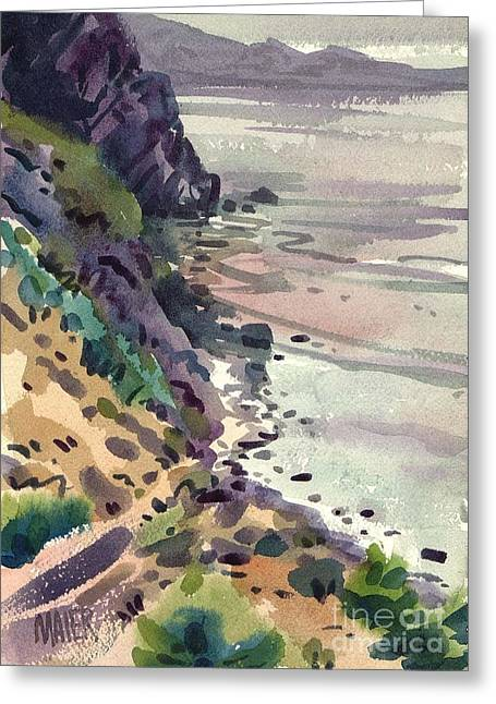 Big Sur Greeting Cards - Big Sur California Greeting Card by Donald Maier