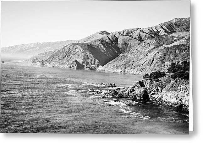 California Ocean Photography Greeting Cards - Big Sur Coast  Greeting Card by Scott Pellegrin