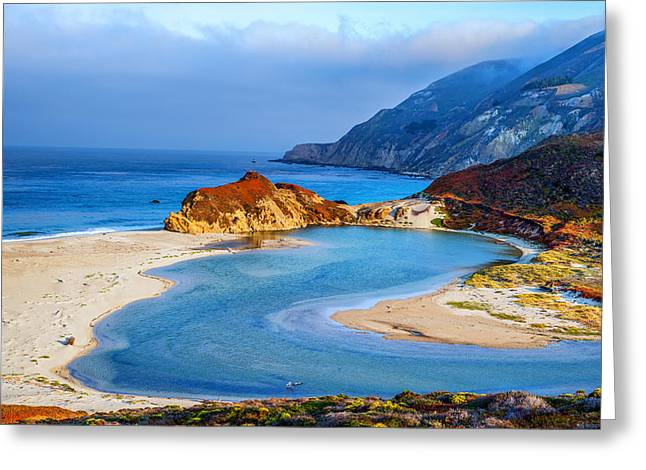 Big Sur Greeting Cards - Big Sur Coastline Greeting Card by Joseph S Giacalone