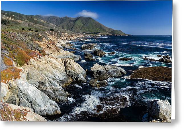 Big Sur California Greeting Cards - Big Sur Coastline Greeting Card by Matt Hammerstein