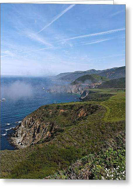 Big Sur Greeting Cards - Big Sur Coastline Greeting Card by Michele Myers