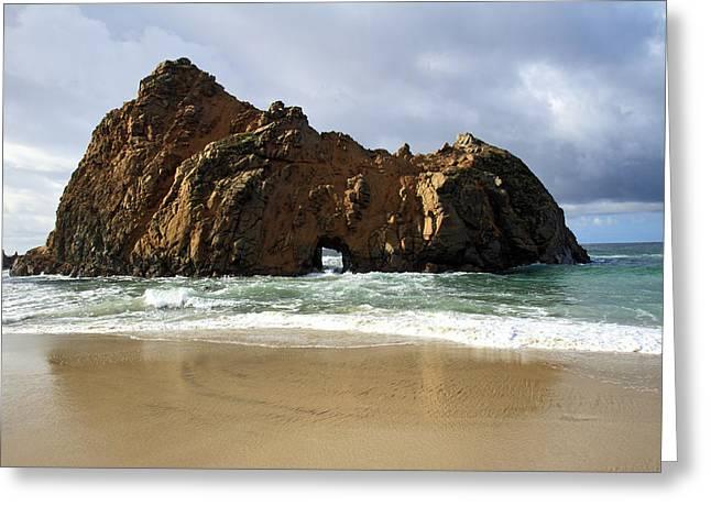 Big Sur Coastline Greeting Card by Pierre Leclerc Photography
