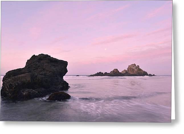 Big Sur Dawn Greeting Card by Stephen  Vecchiotti