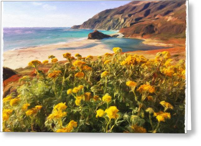 Big Sur Beach Greeting Cards - Big Sur in Summer Greeting Card by Jonathan Nguyen