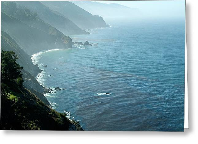 Big Sur Majesty Greeting Card by Charlene Mitchell