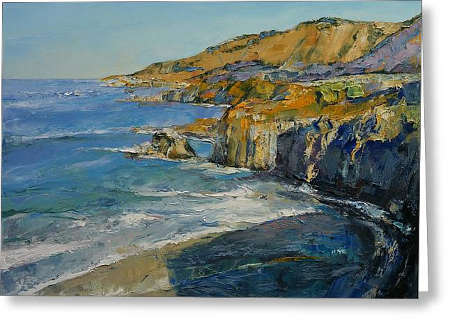 Big Sur Greeting Card by Michael Creese