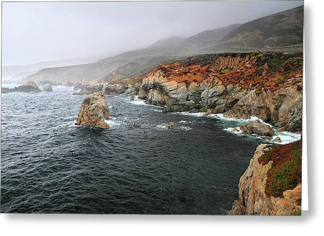 Big Sur Greeting Cards - Big sur storm Greeting Card by Pierre Leclerc Photography