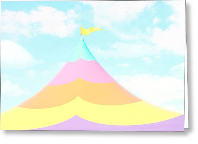 Decor Photography Greeting Cards - Big Top in the Sky Greeting Card by Amy Tyler