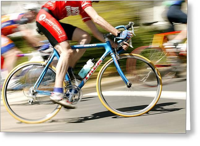Bike Series 5 Greeting Card by Shelley D Spray