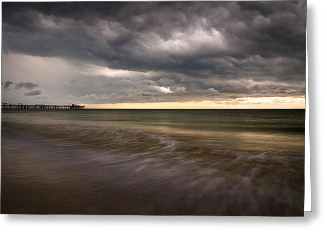 Summer Storm Digital Greeting Cards - Billowing Greeting Card by Clay Townsend