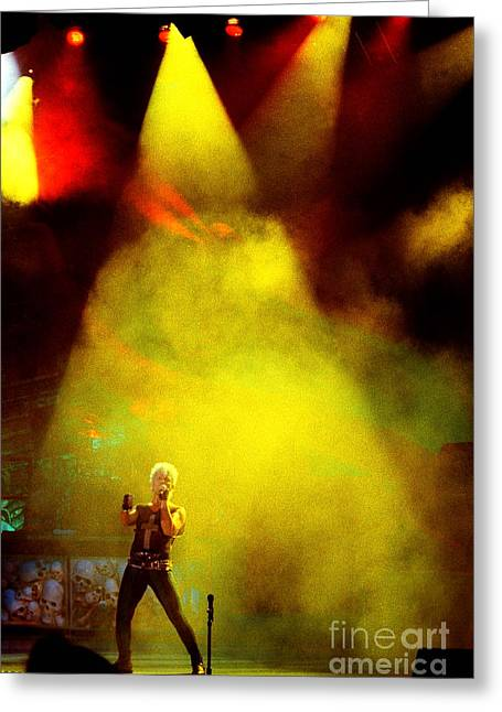Popular Art Greeting Cards - Billy Idol 90-2247 Greeting Card by Gary Gingrich Galleries