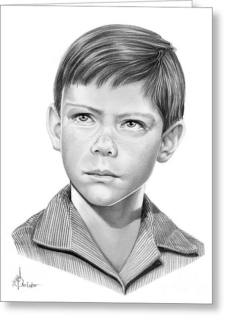 Billy Mumy Greeting Card by Murphy Elliott