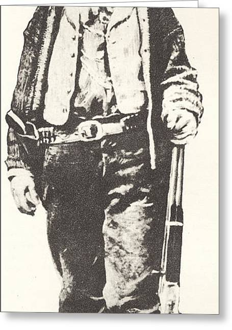 Billy The Kid Greeting Card by American School