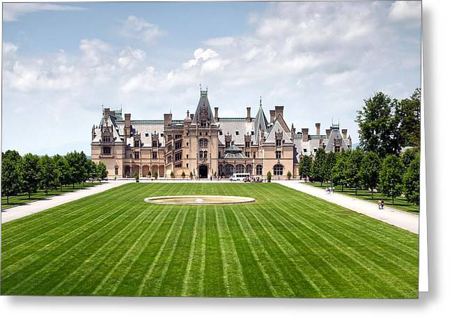 Biltmore Estate In Asheville North Carolina Greeting Card by Maxim Sivyi