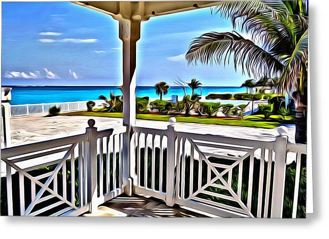 Bimini Greeting Cards - Bimini View Greeting Card by Anthony C Chen