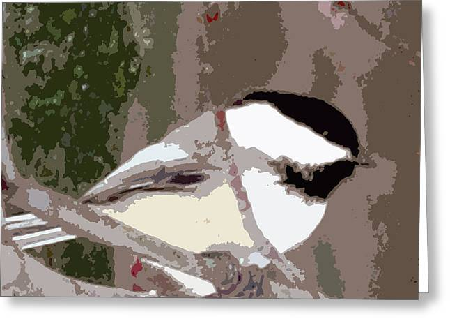 Bird On The Ground Greeting Cards - Bird Cutup Greeting Card by Debra     Vatalaro