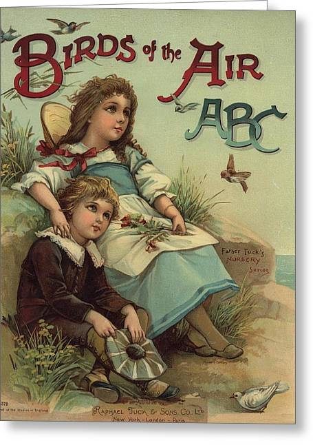 Jack And Jill Greeting Cards - Birds of the Air Greeting Card by Reynold Jay
